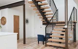 Лестница из профильной трубы, особенности сооружения и необходимые материалы