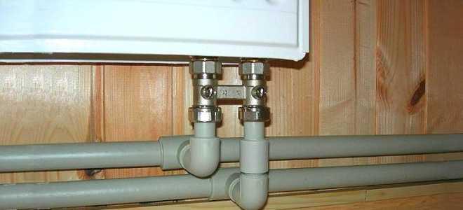 Монтаж отопления из полипропиленовых труб: сборка, материалы и оборудование