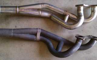 Приемная труба. Прокладка приемной трубы. Ремонт (замена) приемной трубы