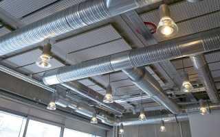 Вентиляционные трубы из оцинкованной стали. Характеристики и установка воздуховодов
