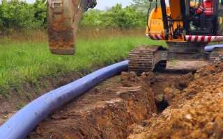 Водопроводная труба для прокладки в земле. Монтаж и утепление водопроводных труб