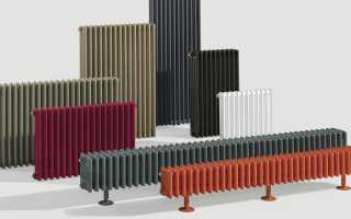 Высота радиаторов отопления – стандартная, малая и избыточная как фактор выбора отопительного оборудования
