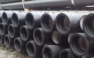ГОСТ 6942-98 трубы чугунные канализационные: основные положения