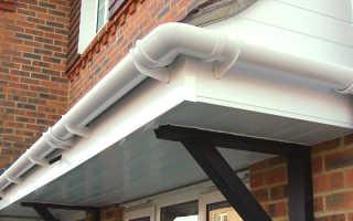 Водостоки пластиковые для крыши. Виды и особенности монтажа