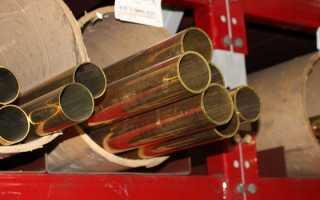 Труба латунная. Виды и характеристики латунных труб
