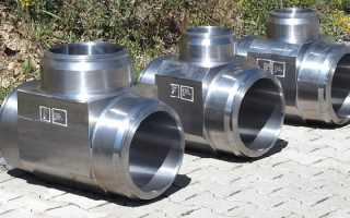 ГОСТ тройники стальные: виды и характеристики стальных тройников