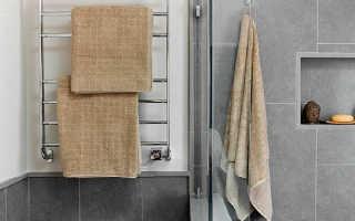 Электрический полотенцесушитель для ванной. Виды и характеристики