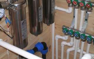 Схема разводки воды. Общие особенности. Как выполнить разводку воды на даче для полива