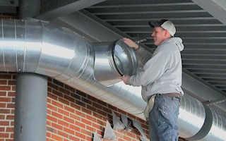 Воздуховоды для вентиляции. Основные виды. Конструкция. Диаметр сечения